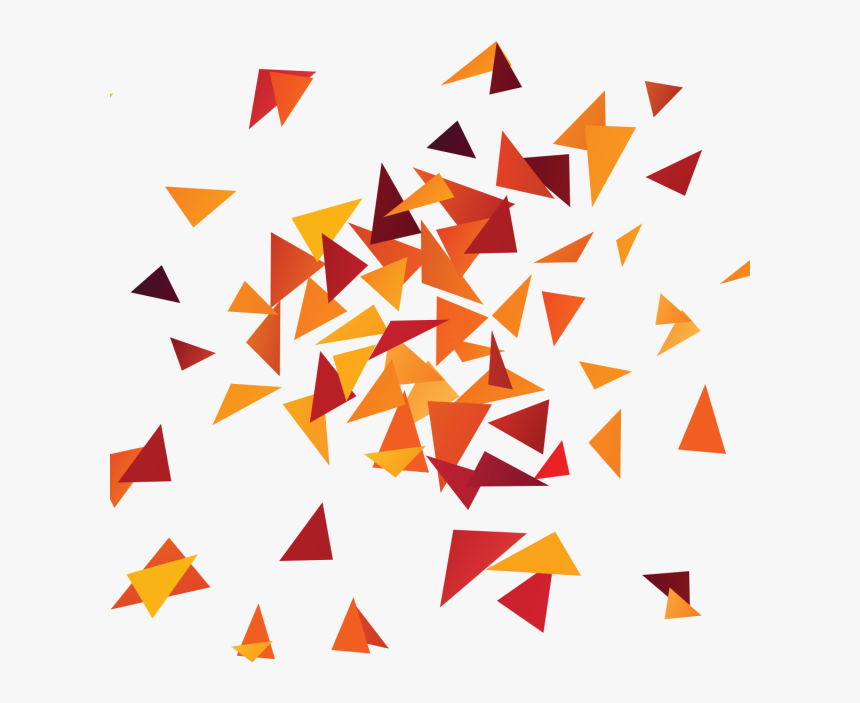Colorful Abstract Triangle Pattern, Colorful, Abstract, - Transparent Abstract Triangles Png, Png Download, Free Download