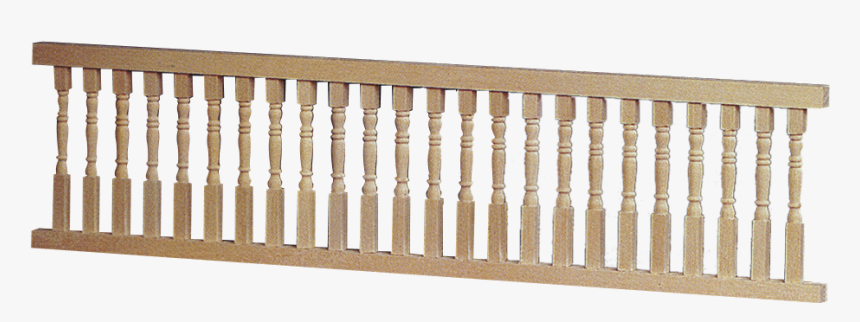 Assembled Porch Rails - Window Wood Baluster, HD Png Download, Free Download