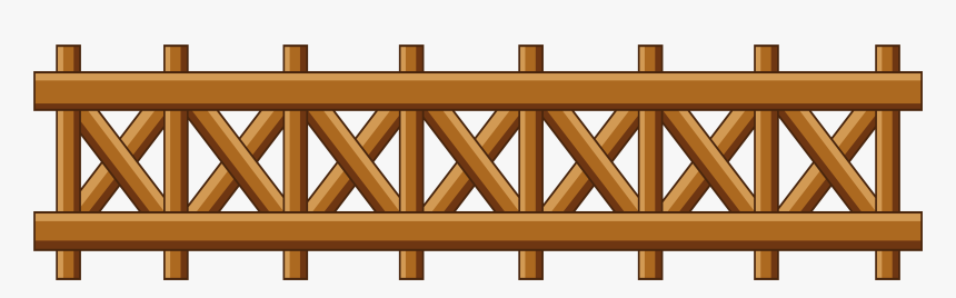 Furniture - Wood Fence Clipart Png, Transparent Png, Free Download