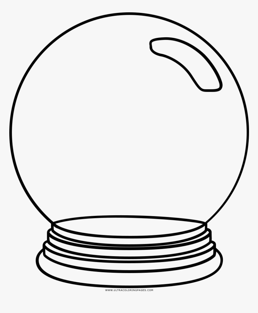Bola De Cristal Dibujo , Png Download - Bola De Cristal Para Dibujar, Transparent Png, Free Download