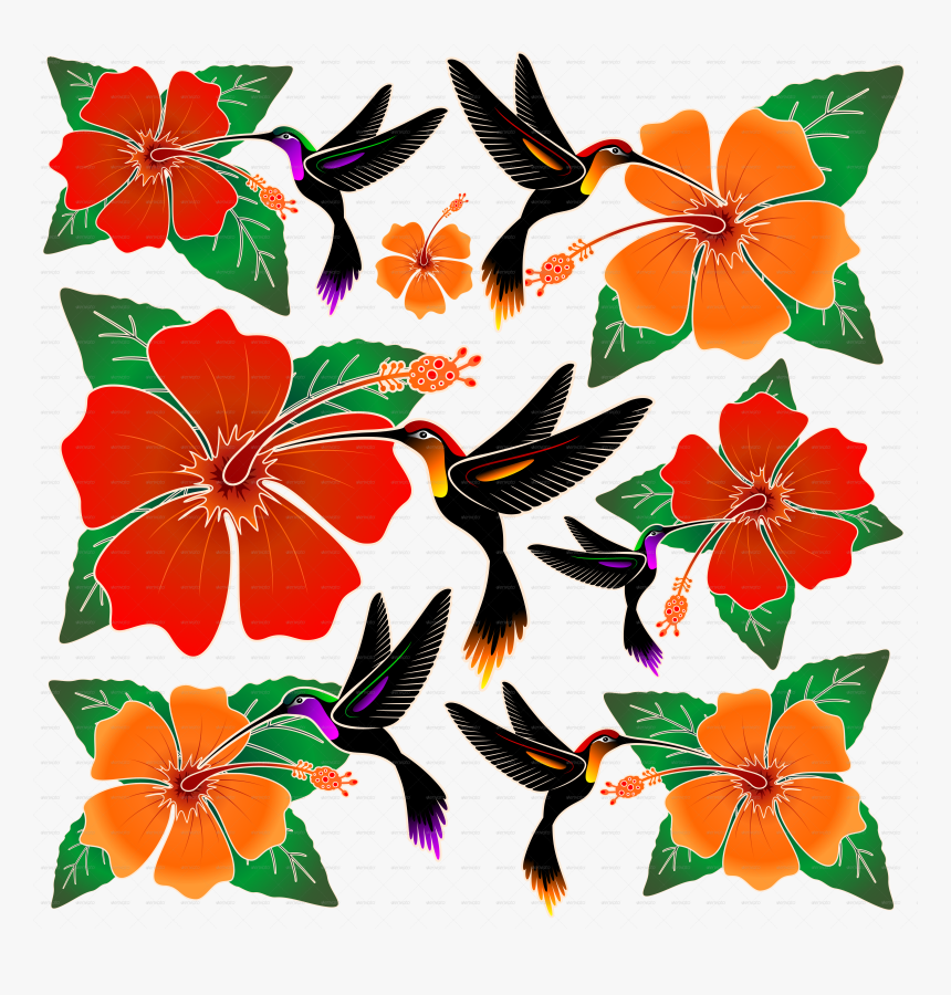 Gambar Batik Flora Fauna Hd Png Download Kindpng