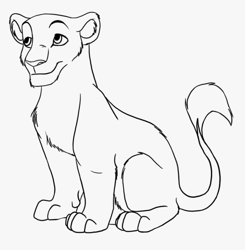 Transparent Lion Clipart Black And White Easy Lion Cub Drawings Hd Png Download Kindpng Lion cub lioness illustrations & vectors. easy lion cub drawings hd png download