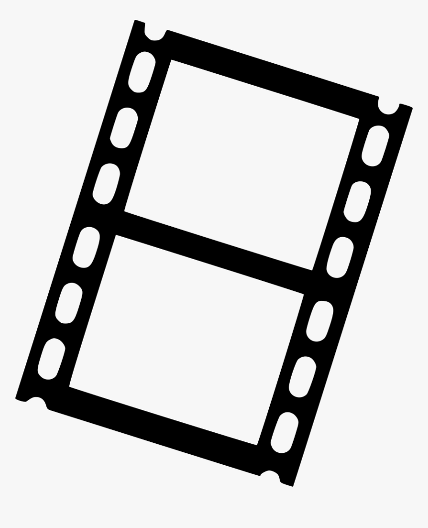 Film Filmstrip Svg Icon - Film Strip Png, Transparent Png, Free Download