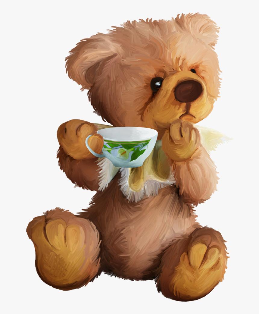 Tubes Ursinhos Honey Bear, Bear Clipart, Cute Clipart, - Teddy Bear Clipart, HD Png Download, Free Download