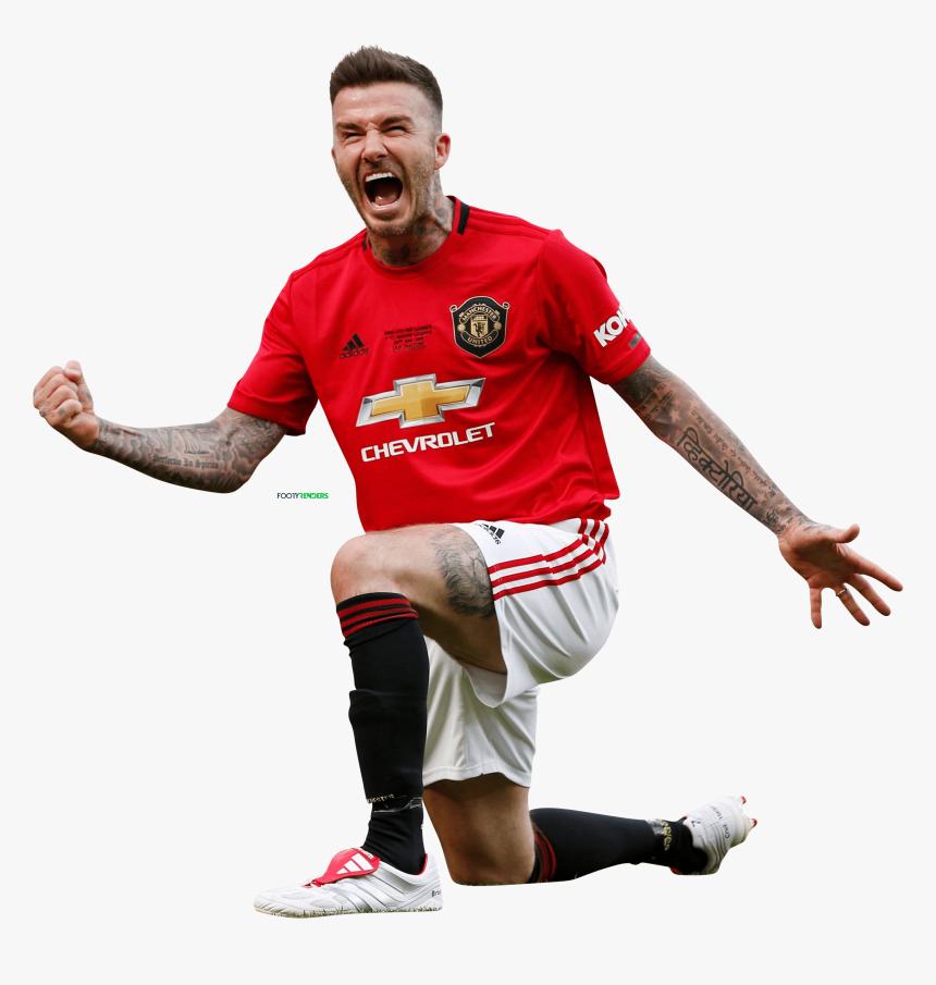 Transparent Manchester United Png David Beckham Transparent Background Png Download Kindpng