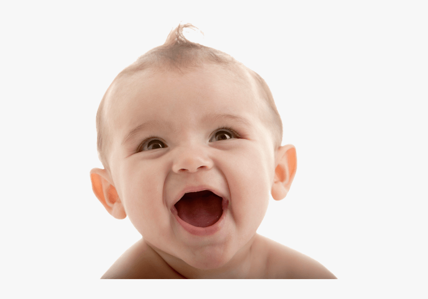 Happy Baby Face - Baby Face Png, Transparent Png - kindpng