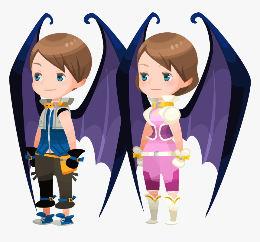 Chernabog Wings - Kingdom Hearts Union X Avatar King, HD Png Download, Free Download
