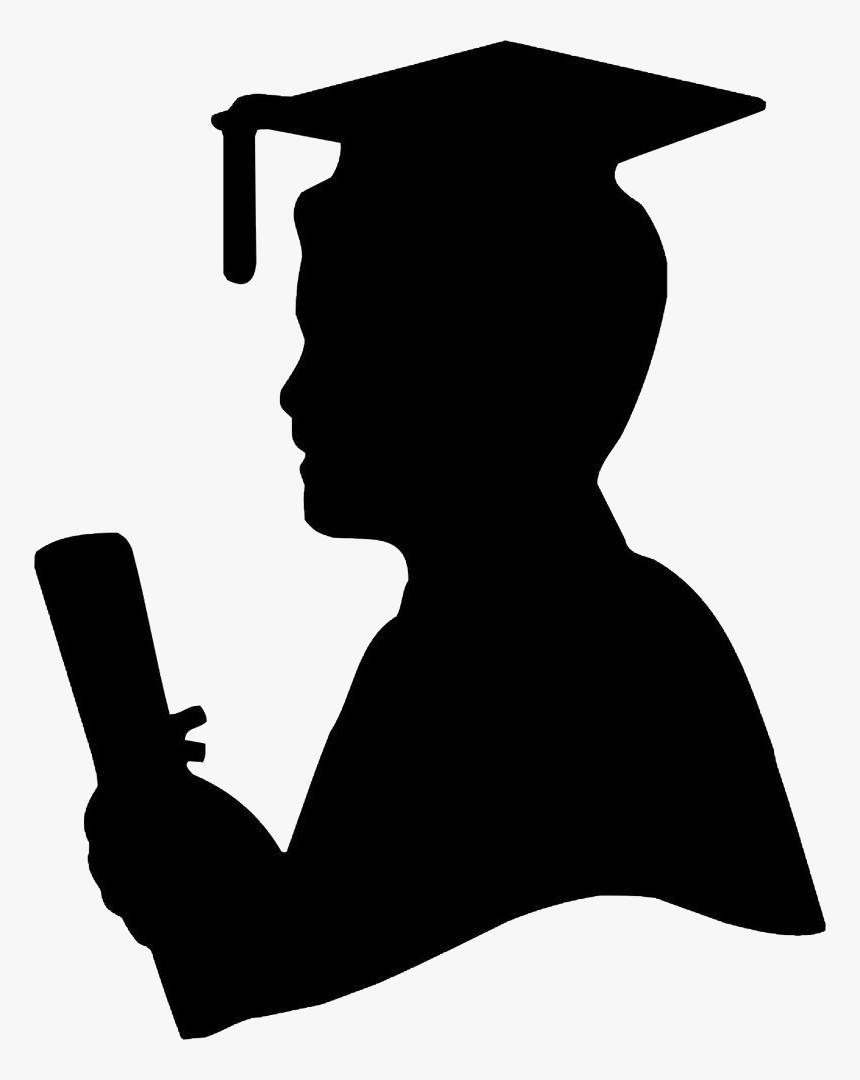 graduate silhouette clipart - 792×1000