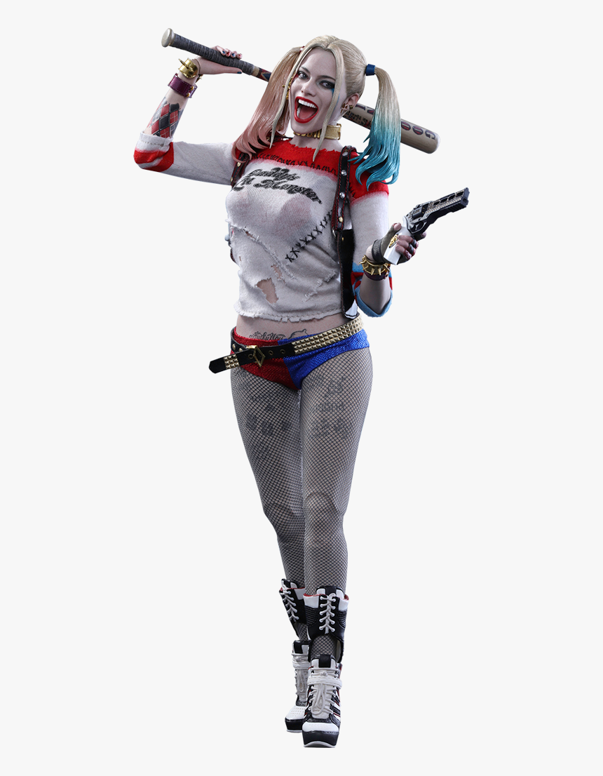 Harley Quinn Png - Harley Quinn Suicidé Squad Figure, Transparent Png, Free Download