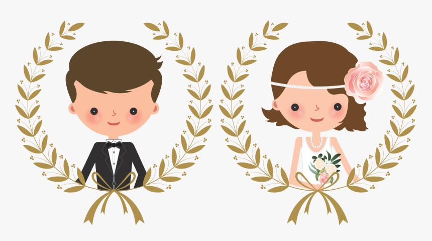 Wedding Couple Cartoon Png Transparent Png Kindpng