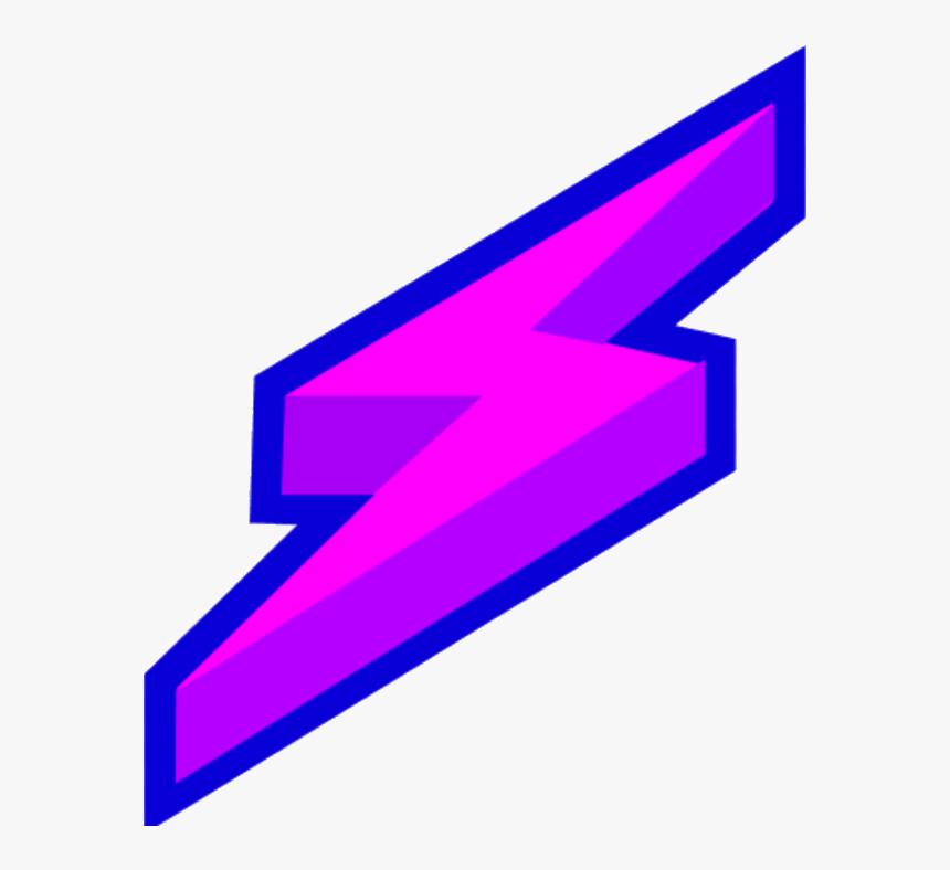 Lightning Bolt Find And Best Transparent Clipart Png Purple Lightning Bolt Png Png Download Kindpng
