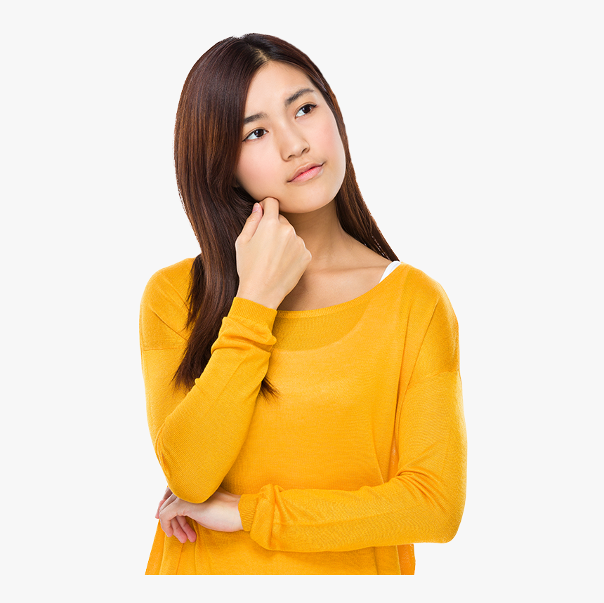 Thinking Woman Transparent Background, HD Png Download, Free Download