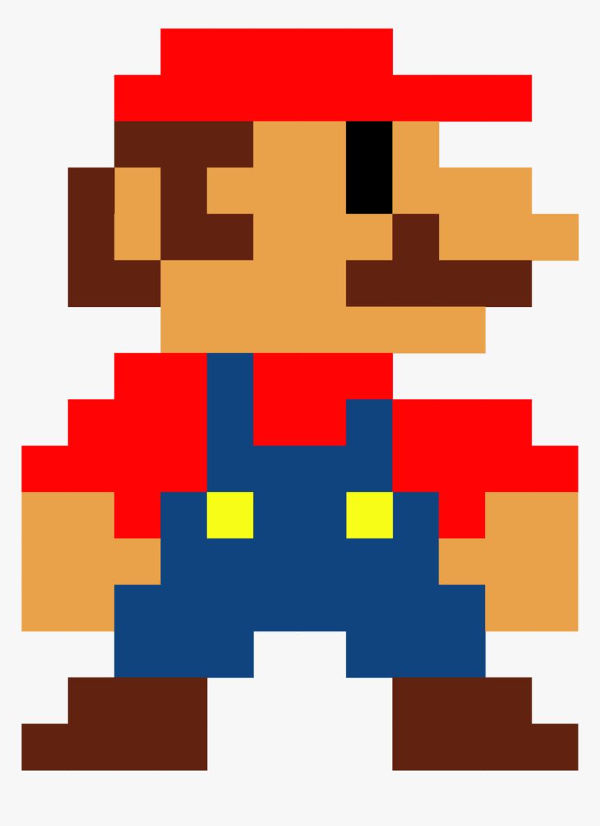 8 Bit Mario Png Mario Bros 8 Bits Transparent Png Kindpng