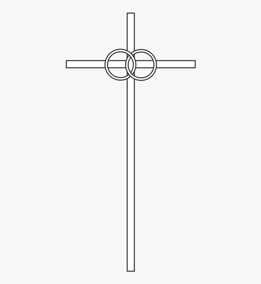Wedding Ring Clipart Png - Wedding Cross Clip Art, Transparent Png, Free Download