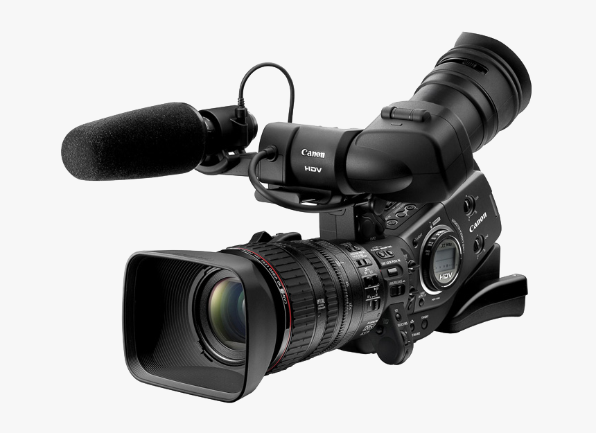 Digital Video Professional Video Camera Camcorder High-definition - Video Camera Png, Transparent Png, Free Download