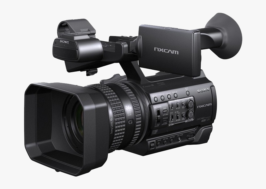 Professional Video Camera 4k Resolution Camcorder - Sony Hxr Nx100, HD Png Download, Free Download