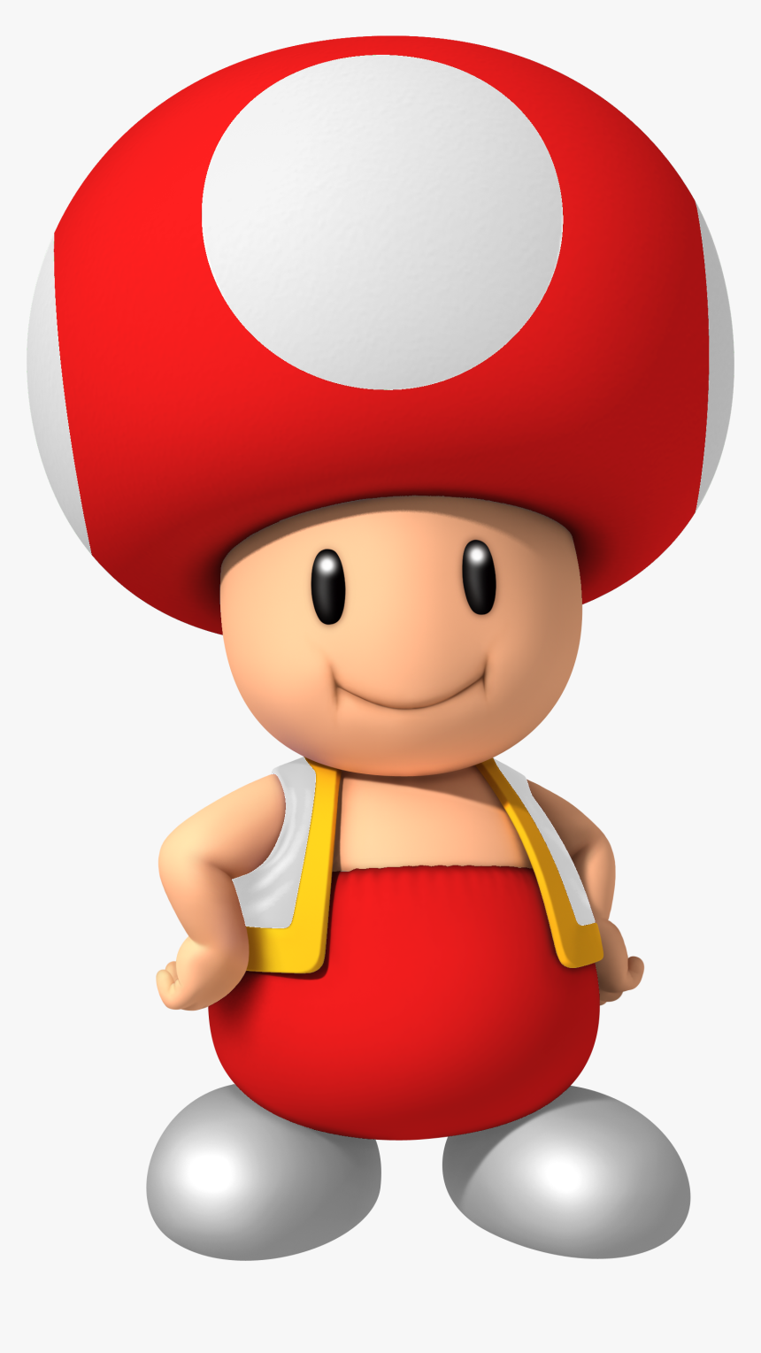 Super Mario Mushroom Png Red Toad From Mario Transparent Png