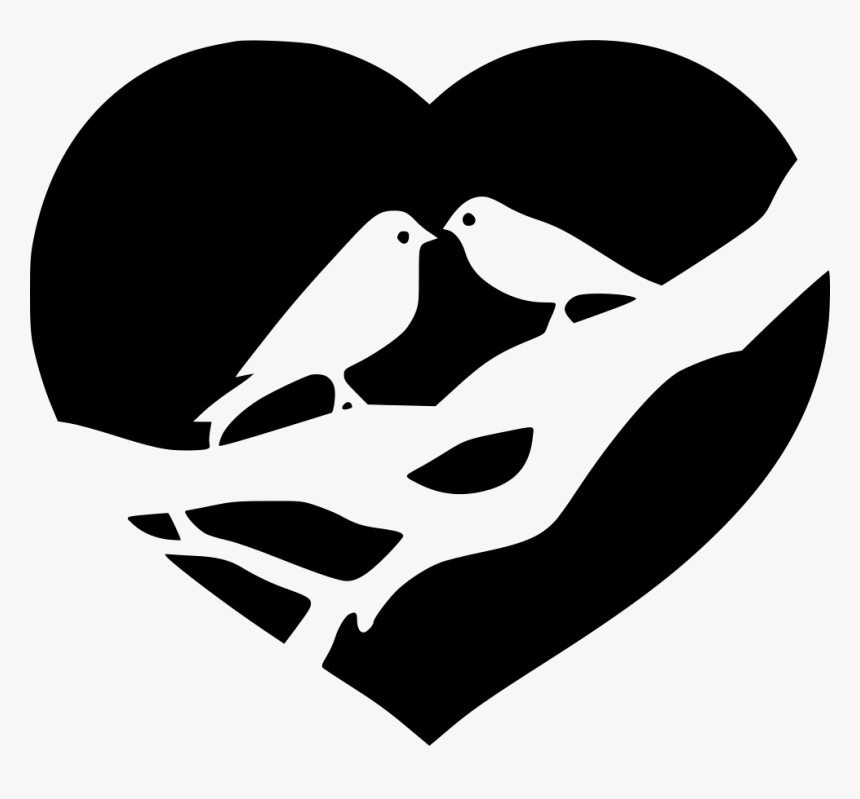 Jpg Royalty Free Stock Bird Png Icon Free Download Two Birds Love Icon Transparent Png Kindpng