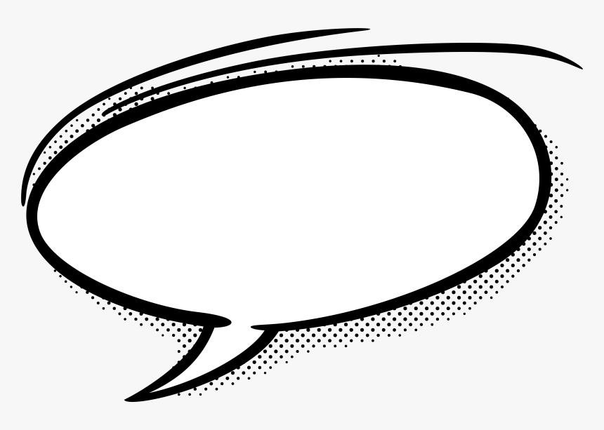 Speech Balloon Comics Comic Book Clip Art - Transparent Comic Bubble Png, Png Download, Free Download