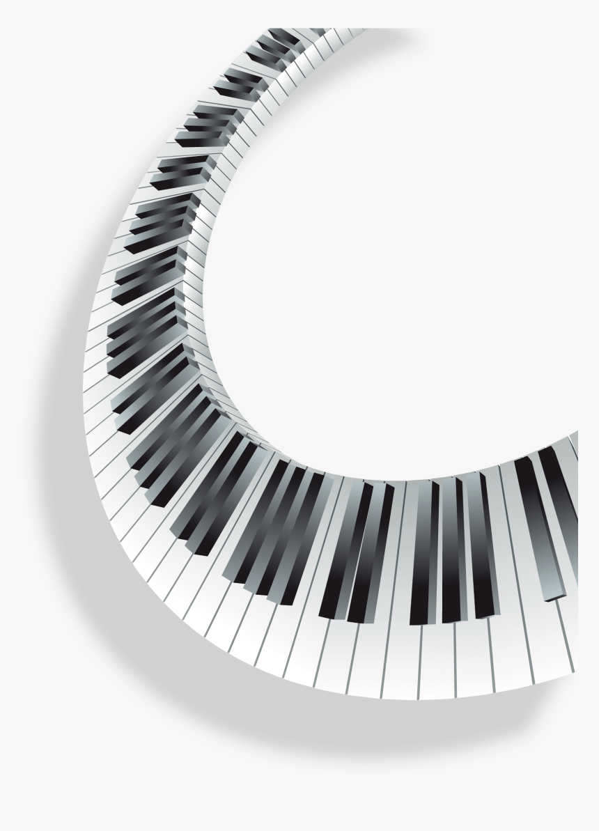 Piano Musical Keyboard Transparent Piano Keys Png Png Download Kindpng