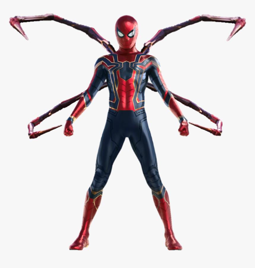 Iron Man Infinity War Png - Spiderman Avengers Infinity War Drawing, Transparent Png, Free Download