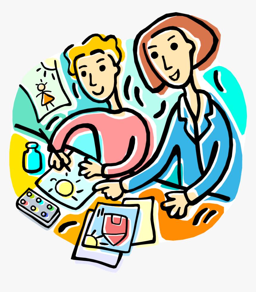 Discovery School Cliparts Png - Art Teacher Clip Art, Transparent ...