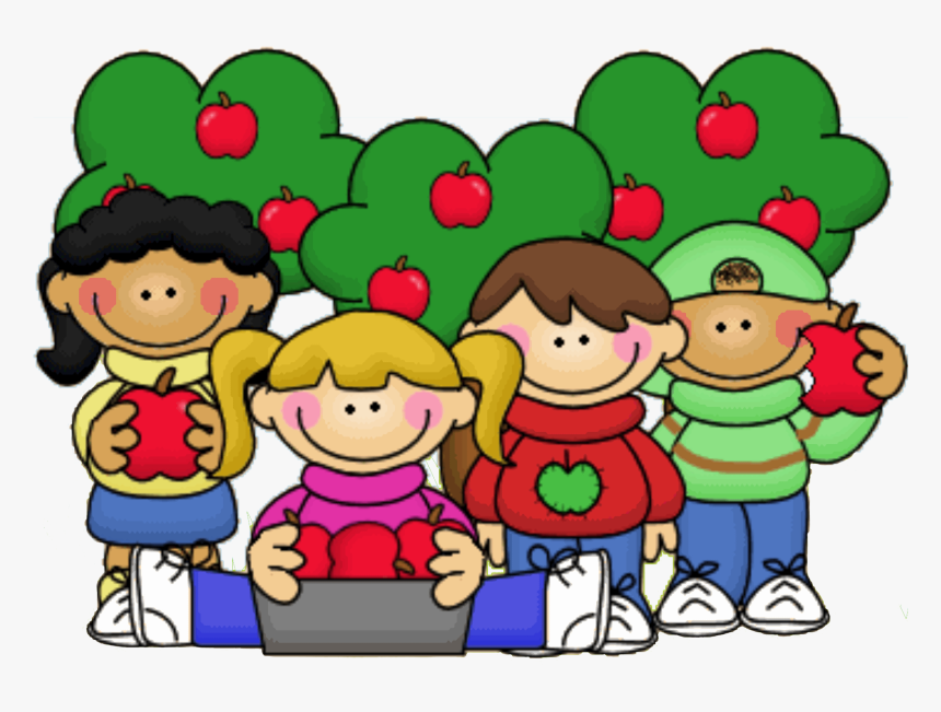 Free Primary School Clipart Png Library Library Apple - Apple Picking Clipart, Transparent Png, Free Download