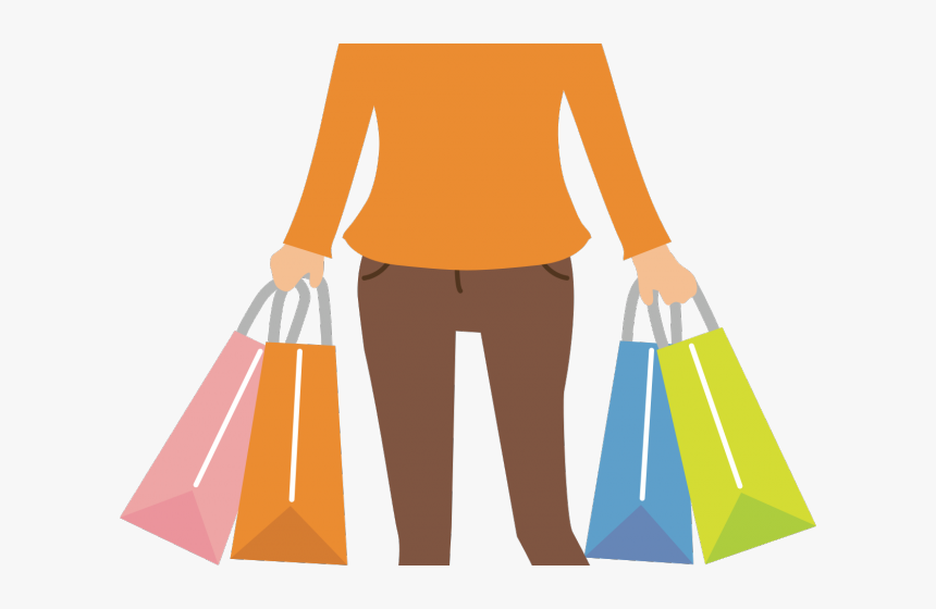 Fantasy Women Clipart Mujer - Woman Shopping Icon Png, Transparent Png, Free Download