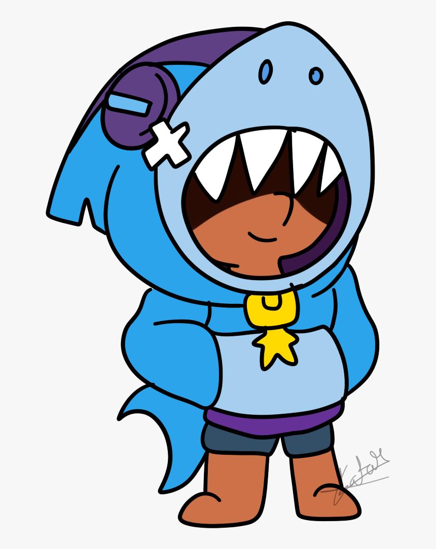 Brawl Stars Leon Shark, HD Png Download, Free Download