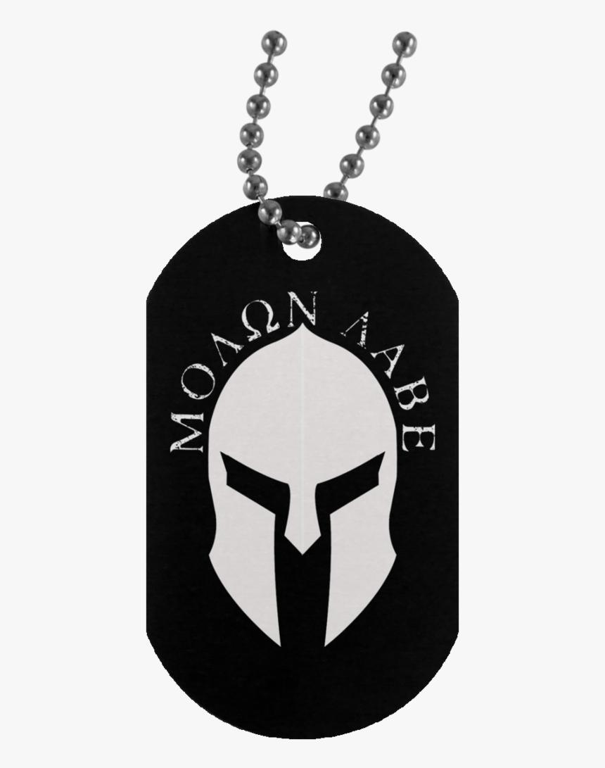 Molon Labe Dog Tags - Molon Labe Dog Tag, HD Png Download, Free Download