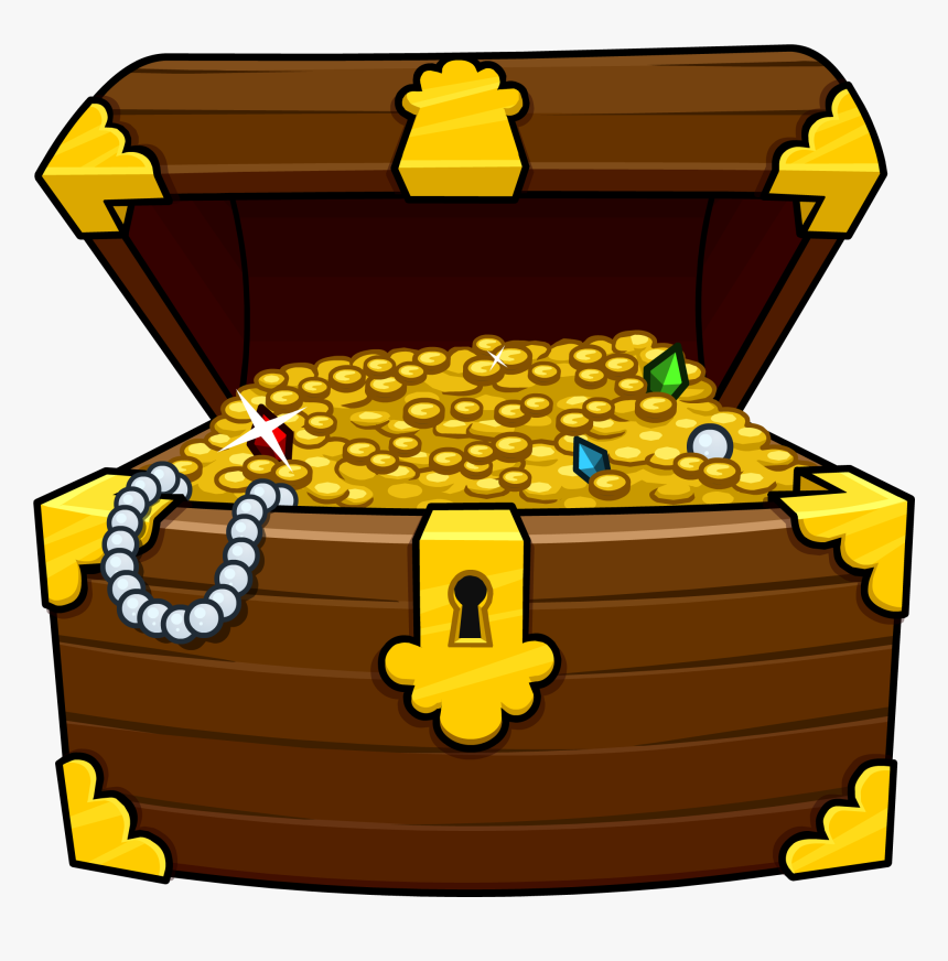 Treasure Chest Png - Clipart Treasure Chest, Transparent Png, Free Download