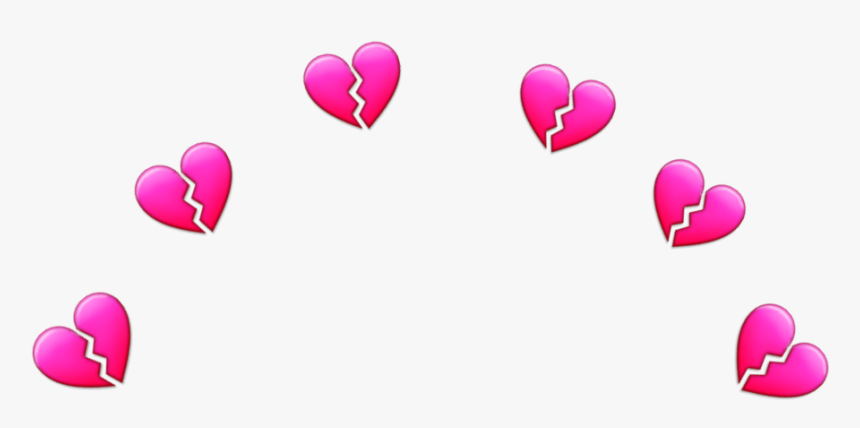 Transparent Heartbreak Emoji Png - Emoji Heart Crown Png, Png Download, Free Download