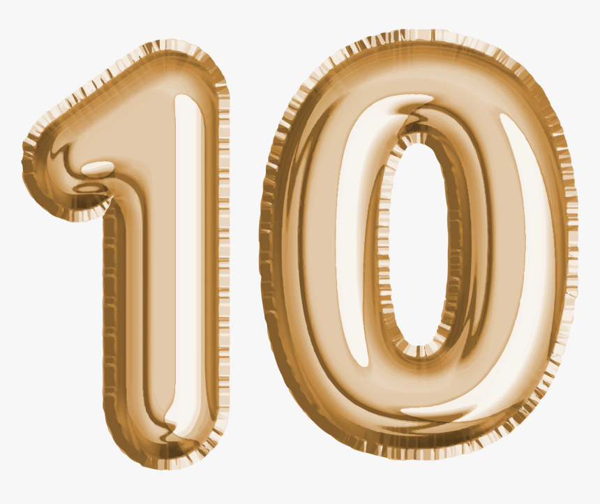 10 Number Png Royalty-free Photo - Transparent Background Number 10 Transparent, Png Download, Free Download