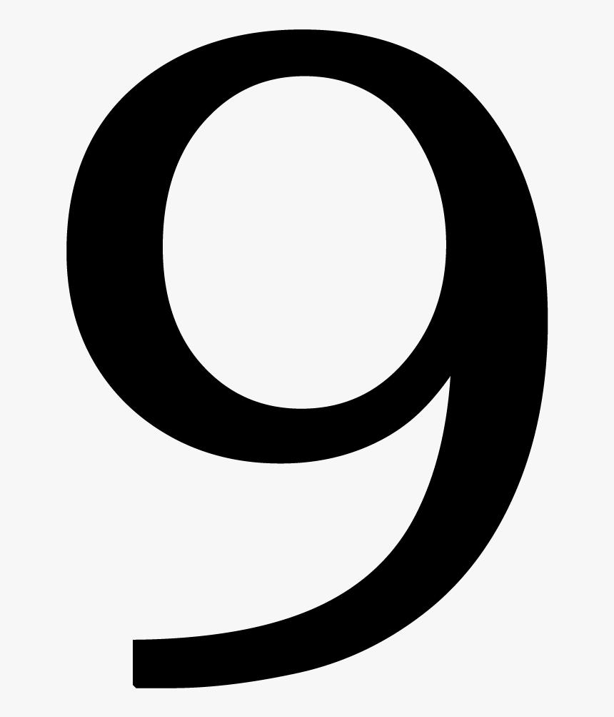 Number 9 Png - Number 9 Transparent, Png Download, Free Download