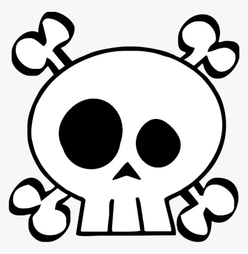Calavera Skull And Crossbones Human Skull Symbolism - Skull And Crossbones Baby, HD Png Download, Free Download