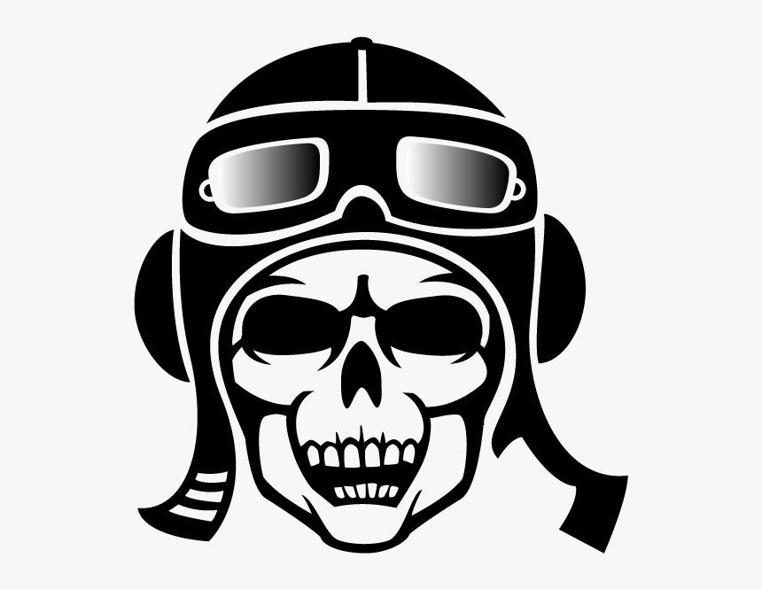 Transparent Skeleton Head Clipart - Tengkorak Png Vector, Png Download, Free Download
