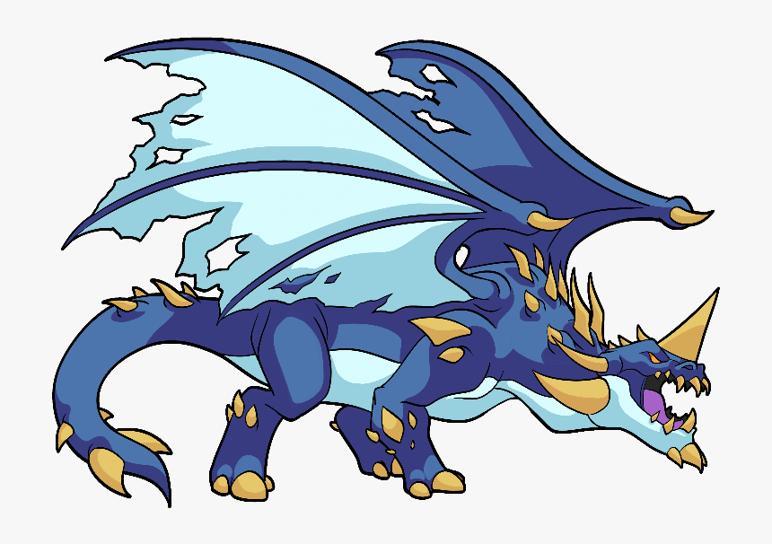 Blue-dragon - Steem Monsters, HD Png Download, Free Download