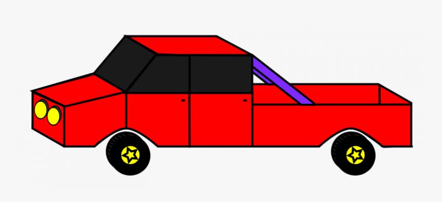 Cartoon Car Vector Graphics - Car Png 4x4 Cartoon, Transparent Png, Free Download