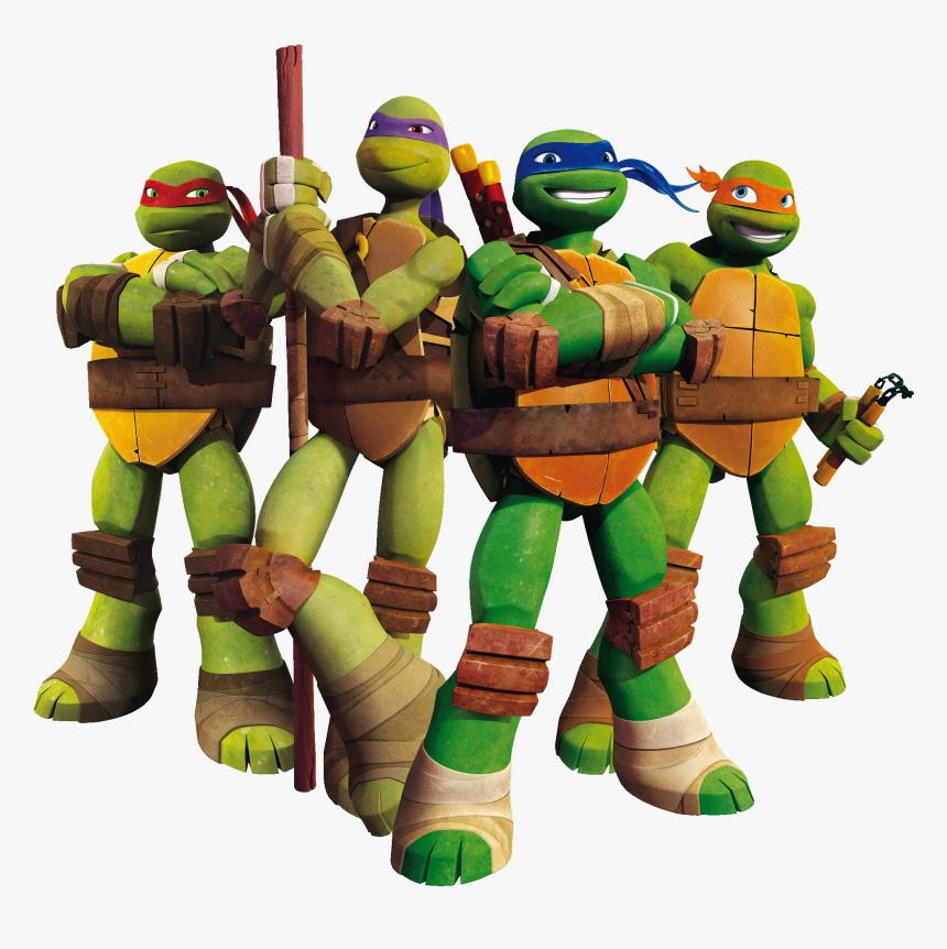 Transparent Teenage Mutant Ninja Turtle Clipart - Teenage Mutant Ninja Turtles, HD Png Download, Free Download