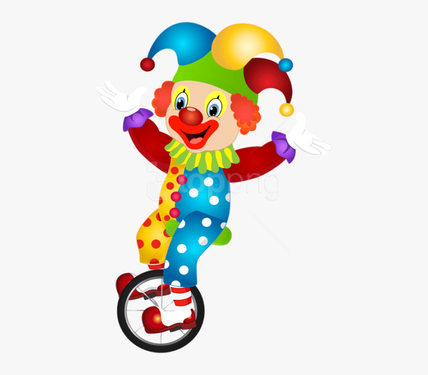 Free Png Download Cute Clown Png Images Background - Clown Clipart Png, Transparent Png, Free Download