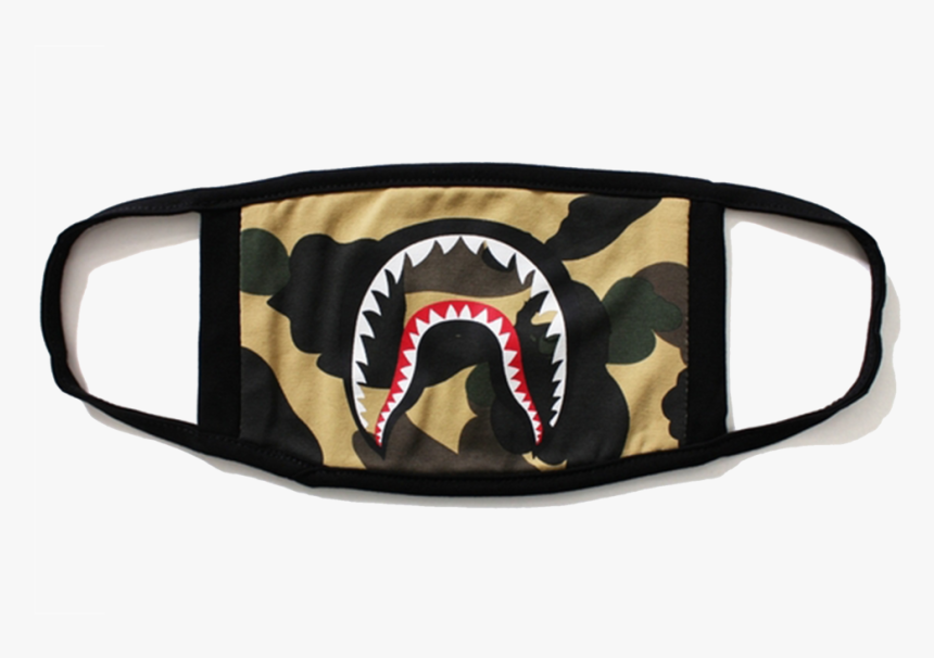 Bape Camo Shark Mask, HD Png Download, Free Download