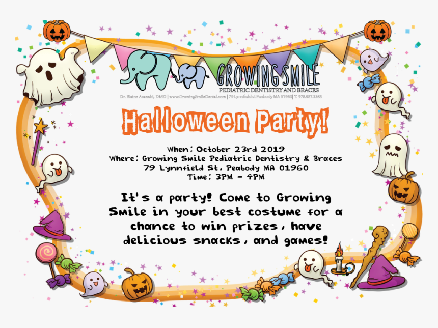 Halloween Party - Happy Birthday Witch, HD Png Download, Free Download