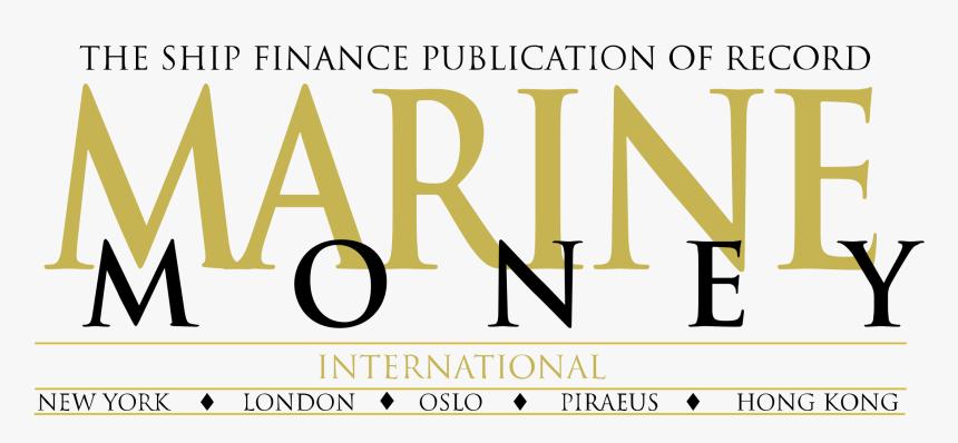 Marine Money Logo Png Transparent - Marine Money, Png Download, Free Download