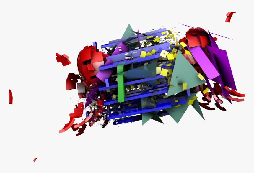 Abstract Shape Transparent , Png Download - Cinema 4d Abstract Free, Png Download, Free Download
