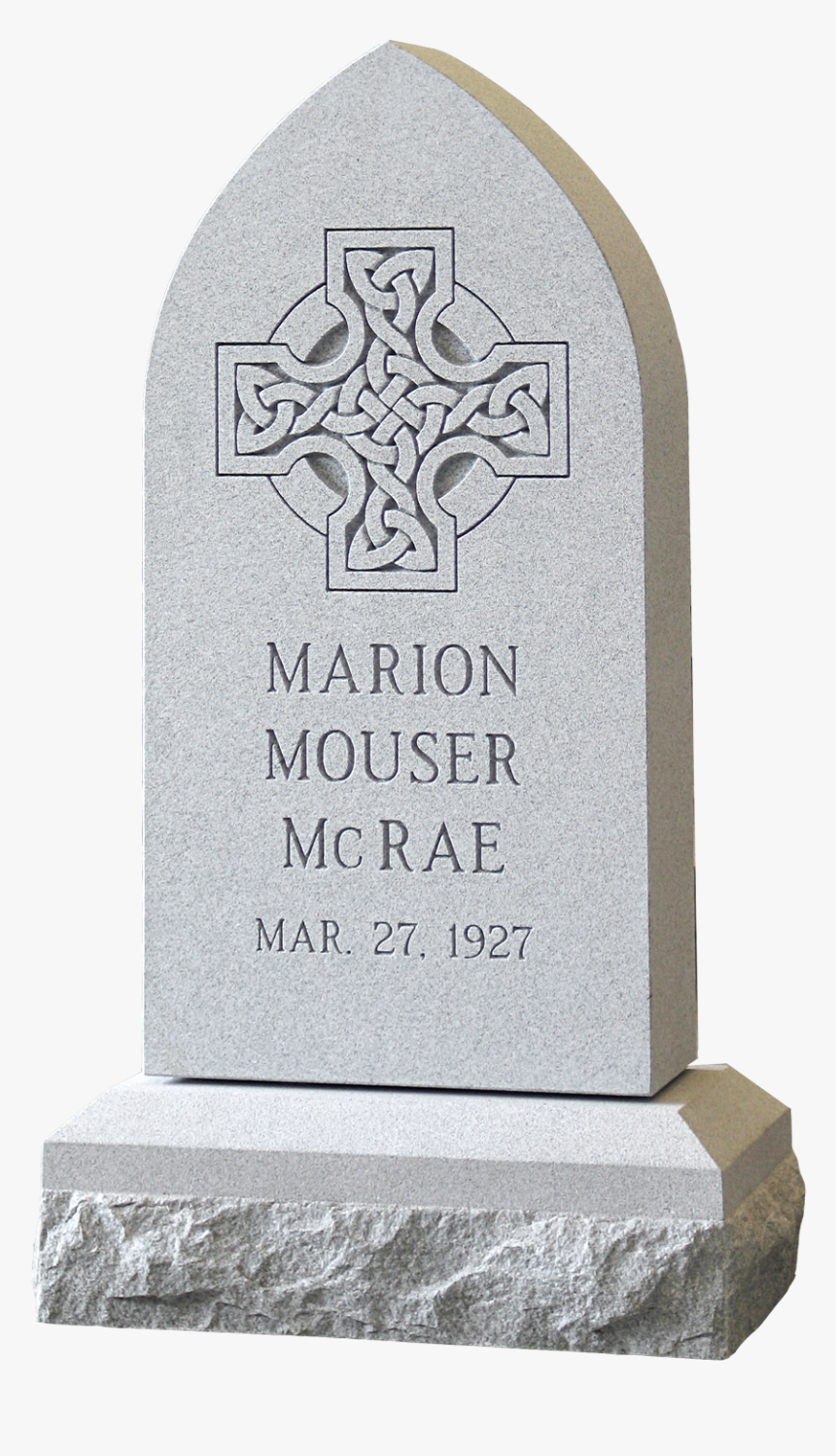 Mcrae Monument - Headstone, HD Png Download, Free Download