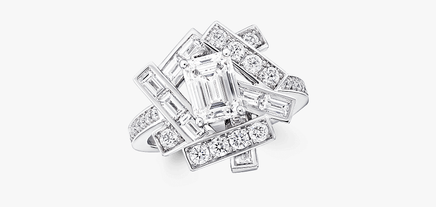 A Graff Threads Diamond Ring - Graff Threads Ring, HD Png Download, Free Download