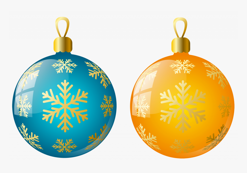 Christmas Ornaments Clipart, HD Png Download, Free Download
