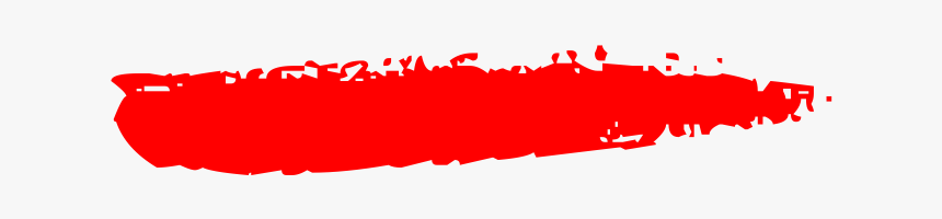 Swag Text Png Download - Red Paint Brush Effect Png, Transparent Png, Free Download