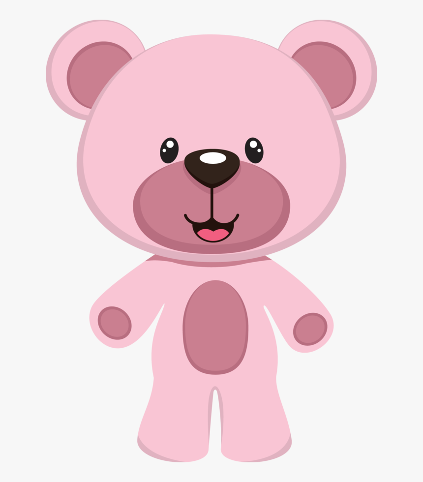 Pink Teddy Bear Clipart, HD Png Download, Free Download