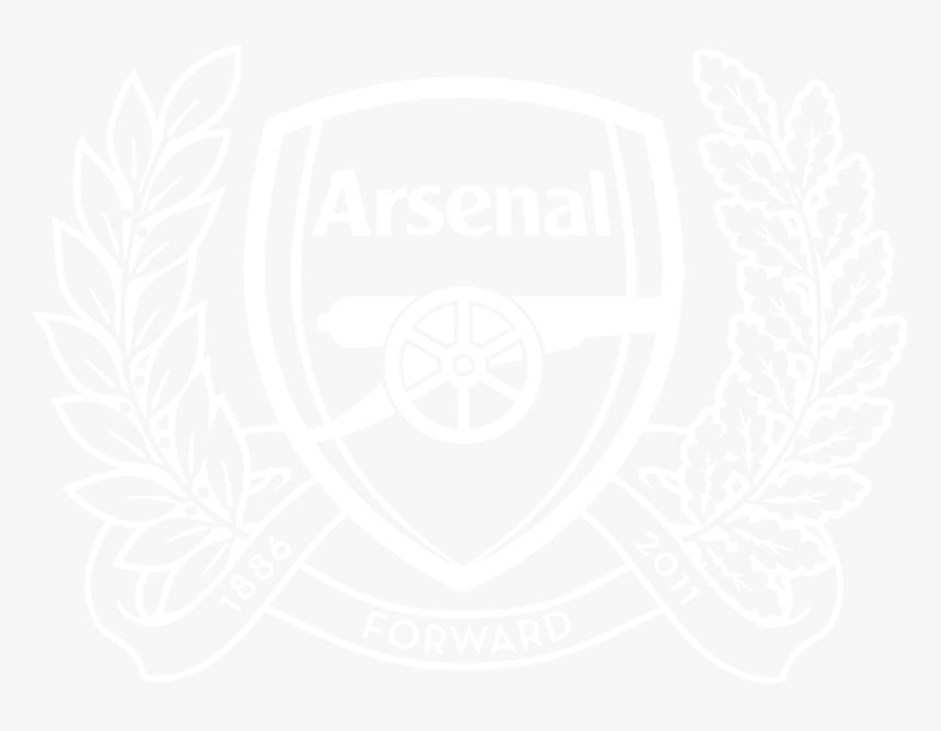 Transparent 25th Anniversary Clipart - Arsenal Fc Logo Gunners, HD Png Download, Free Download